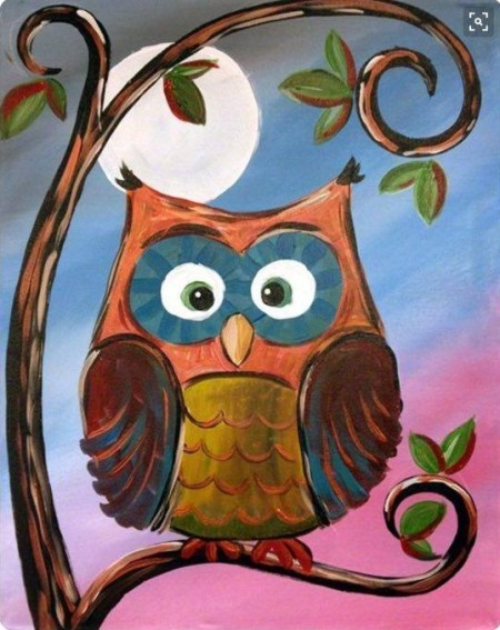 owlpaintnight